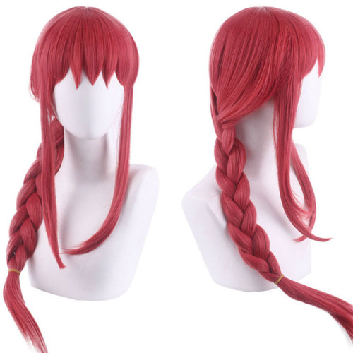 Anime Chainsaw Man Makima Cosplay Wigs Cosplay Accessories