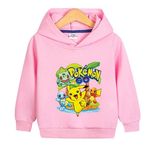 Pokemon Kids Trendy Hoodie Long Sleeves Unisex Hoodie