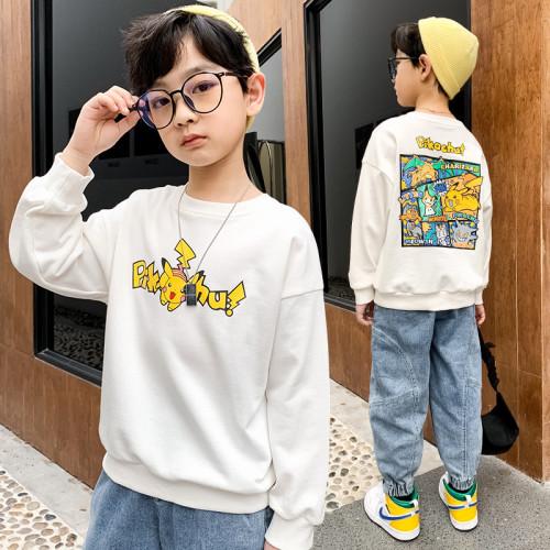 Pokemon Kids Loose Fashion Hoodie Long Sleeves Unisex Hoodie