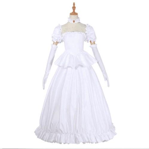 Game Mario Boo Costume White Cosplay Dress Halloween Costume For Women Girls