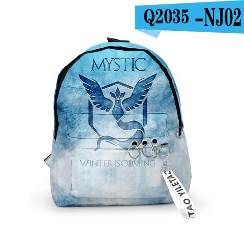 Pokemon Trendy Backpack Unisex Backpack Day Bag
