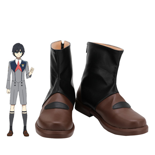 Anime Darling In The Franxx HIRO 016 Cosplay Shoes Halloween Cosplay Accessries Boots