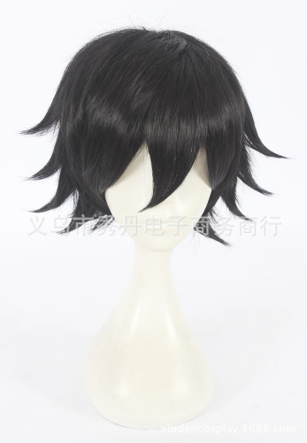 Anime Darling In The Franxx HIRO 016 Cosplay Black Wigs Short Cosplay Wigs