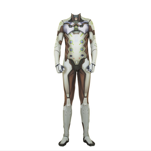 [Kids/Adults] Overwatch OW Genji Cosplay Costume Jumpsuit Zentai Halloween Spandex Costume Outfit