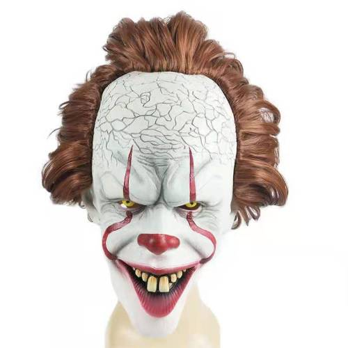 Movie It Pennywise Cosplay Mask Halloween Horror Cosplay Mask