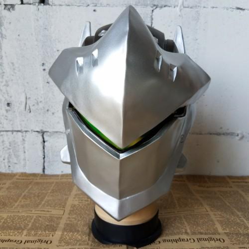 Overwatch OW Genji Cosplay Mask Halloween Cosplay Accessories