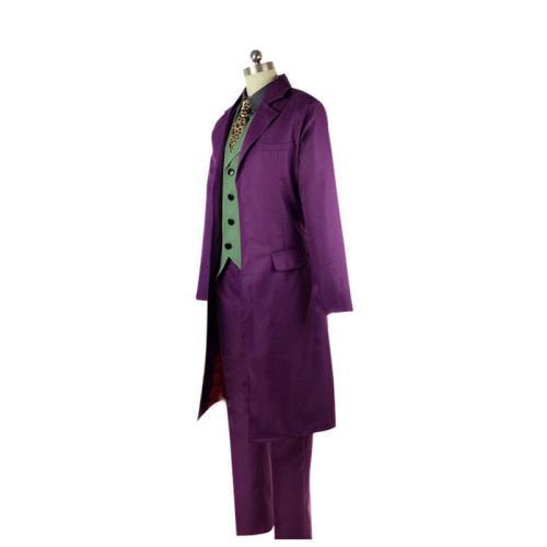 Batman The Dark Knight Cosplay Joker Costume Heath Ledger Cosplay Costume Suit With Cloak