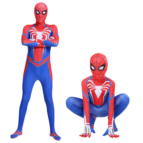[Kids/Adults] PS4 Spider Man Advanced suit Costume Halloween Costume Outfit