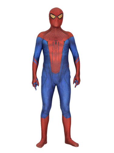 [Kids/Adults] The Amazing Spider-man Zentai Costume Halloween Party Cosplay Outfit