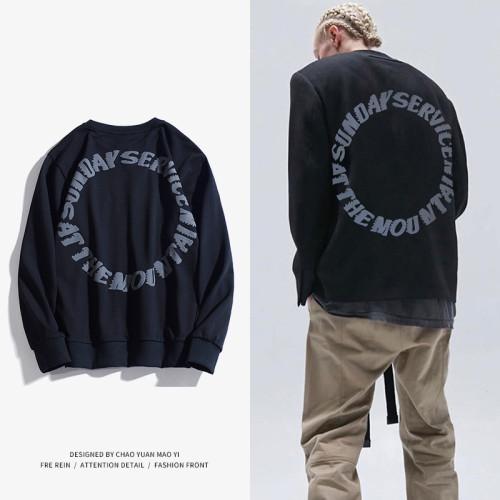 Kanye West Trust God Shirts Long Sleeve Casual T-shirt Tops
