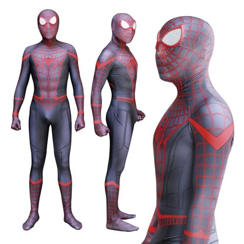 [Kids/Adults] Spider Man Red Zentai Costume Unique Halloween Cosplay outfit