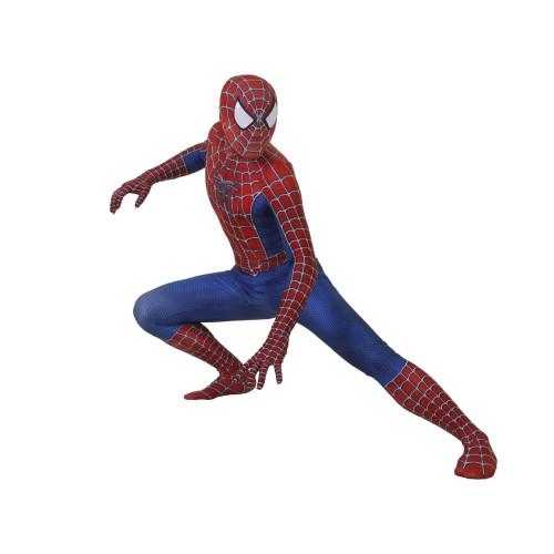 [Kids/Adults] Raimi Spider Man Suit Halloween Zentai Costume Classic Jumpsuit Costume