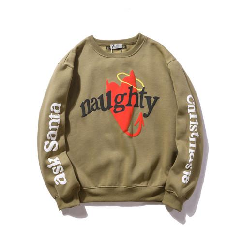 Kanye West Naughty Print Graphic Sweatshirt Unisex Casual Streetwear Pullover Tops