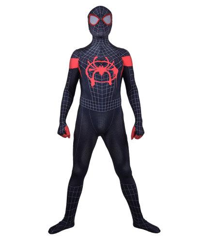 [Kids/Adults] Spider Man Miles Morales Costume Halloween Costume Zentai Suit