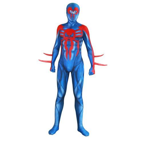 [Kids/Adults] Spider-Man 2099 Costume Miguel O'Hara Spider Man Zentai Costume