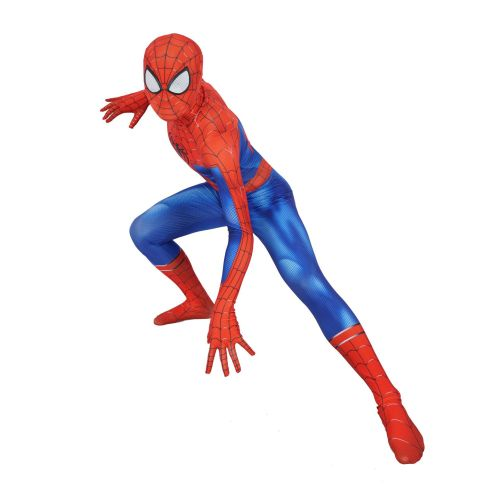 [Kids/Adults] Spider-Verse Spider Man Costume Zentai Spandex Jumpsuit Halloween Festival Costume Outfit