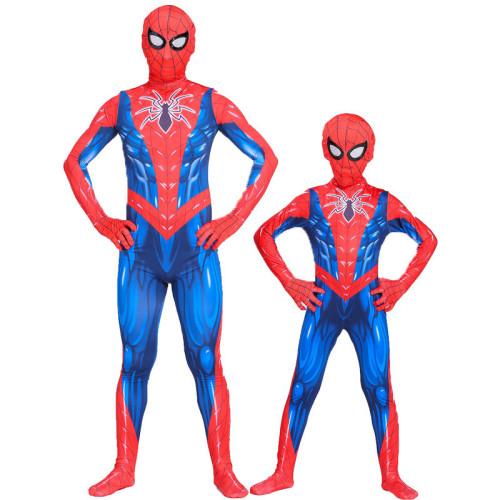 [Kids/Adults] Raimi Spider Man Muscle Zentai Halloween Costume Suit