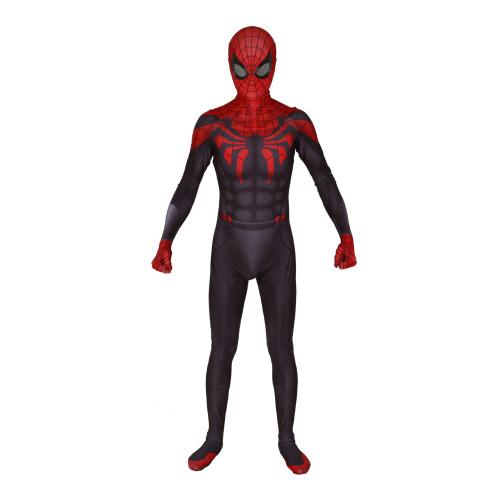 [Kids/Adults] Superior Spider Man Costume Zentai Halloween Cosplay Jumpsuit