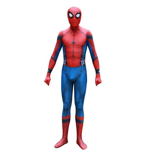 [Kids/Adults] Spider-Man: Homecoming Peter Parker Costume Halloween Zentai Costume