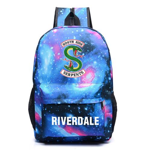 Riverdale Southside Serpent Backpack Students Unisex School Backpack Book Bag
