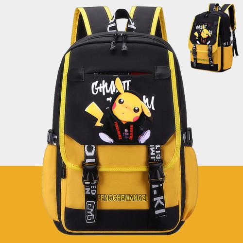 Pokemon Popular Students Backpack Book Bag Travel Bag