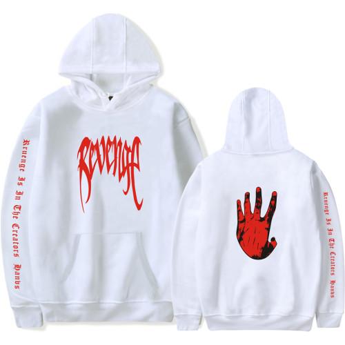 XXXtentacion Revenge Hoodie Long Sleeve Youth Unisex Sweatshirt Winter Fall Pullover Tops