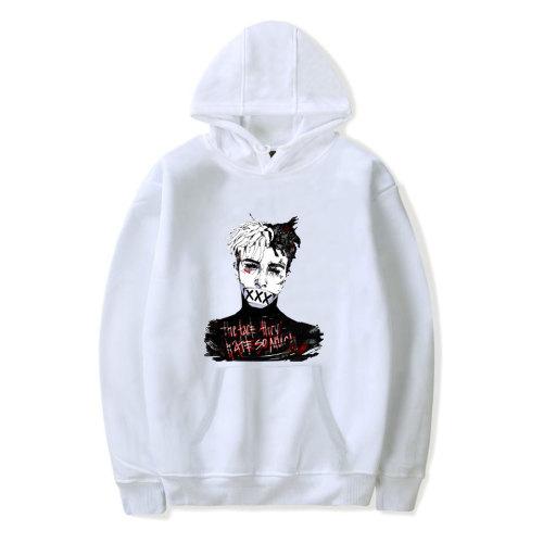 XXXtentacion Hoodie Casual loose Version Hooded Sweatshirt Youth Girls Boys Winter Fall Tops