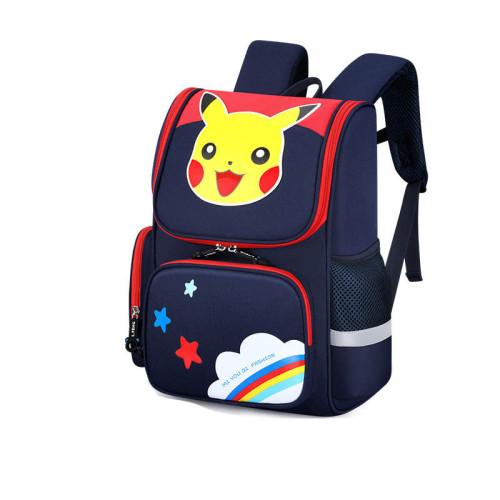 Pokemon Trendy Students Backpack School Book Bag