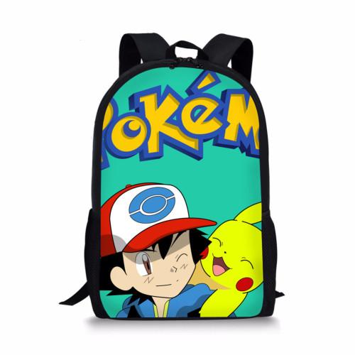 2021 Pokemon Trendy Students Backpack School Book Bag