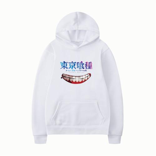Anime Tokyo Ghoul Hoodie Unisex Casual Long Sleeve Sweatshirt Trendy Streetwear Fans Gift