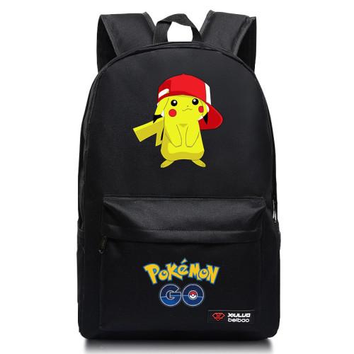 Pokemon Trendy Students Backpack Book Bag Travel Bag