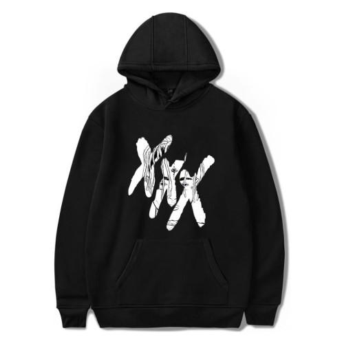 XXXtentacion Hip Hop Hoodie Loose Casual Fleece Hoodies Long Sleeve Youth Unisex Sweatshirt
