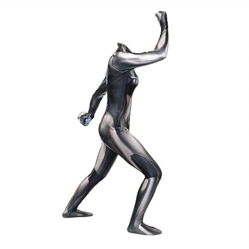 [Kids/Adults]Metroid Samus Aran Zero Black Costume Halloween Spandex Zentai Costume
