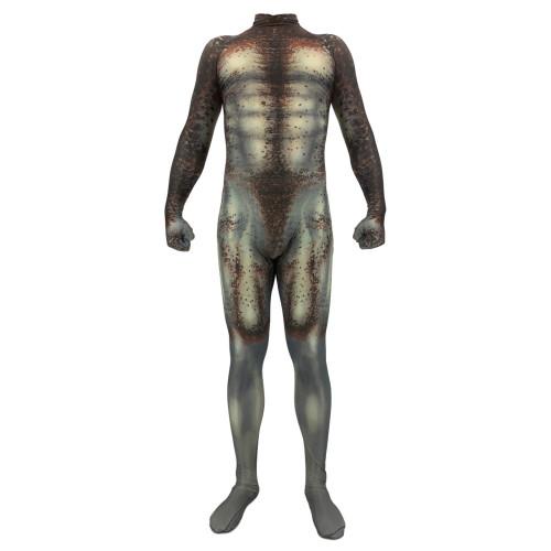 [Kids/Adults]Predator Men Costume Spandex Zentai Costume Halloween Jumpsuit Costume Outfit