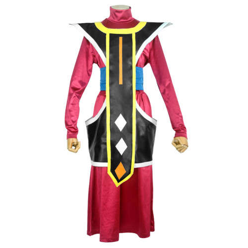 Anime Dragon Ball Whis Costume Set Halloween Party Cosplay Outfit