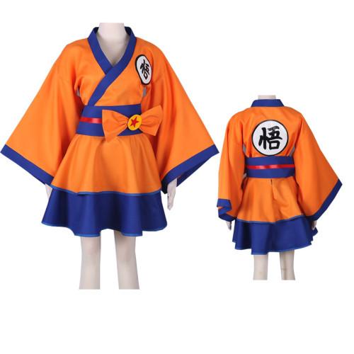 Anime Dragon Ball Female Costume Lolita Dress Costume Halloween Festival Cosplay Outfit