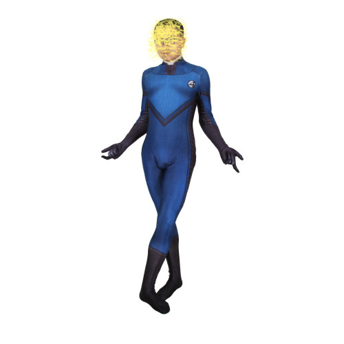 [Kids/Adults] Fantastic Four Unisex Costume Zentai Halloween Party Cosplay Outfit Jumpsuit