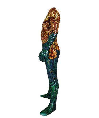 [Kids/Adults] Aquaman Zentai Costume Halloween Spandex Jumpsuit Costume Outfit