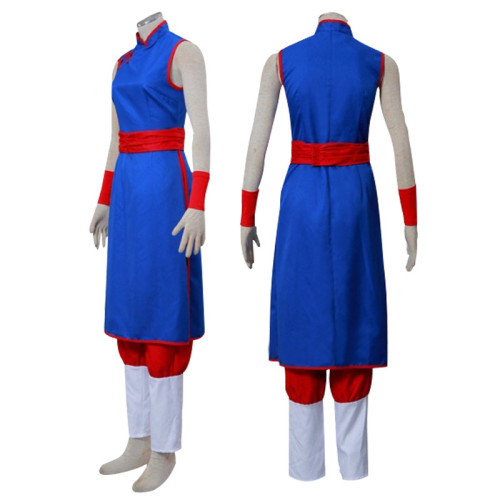 [Kids/Adults] Anime Dragon Ball Chi Chi Costume Unisex  Cosplay Dress Hallowee Party Outfit