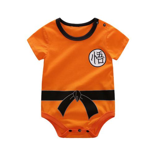 Anime Dragon Ball Baby Toddler Costume Son Goku Baby Halloween Costume