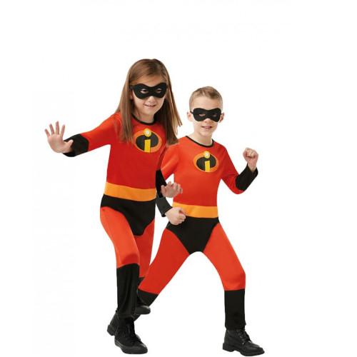 Incredibles Violet Parr Dash Kids Toddler Cosplay Costume Zentai Halloween Spandex Jumpsuit Costume