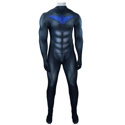 [Kids/Adults] Teen Titans Nightwing Dick Grayson Robin Costume Zentai Costume Outfit