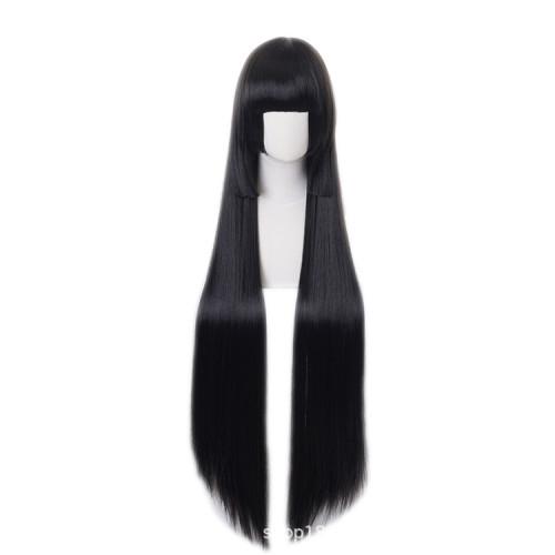 Anime Kakegurui Compulsive Gambler Yumeko Jabami Cosplay Black Long Wigs