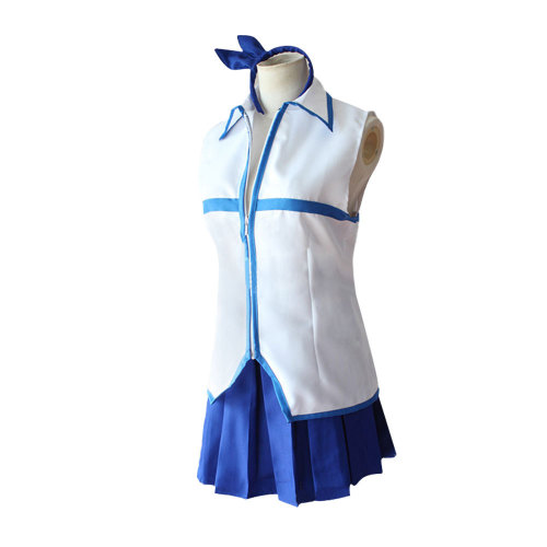 Anime Fairy Tail Lucy Heartfilia Coaply Costume Whole Set With Wigs Halloween Full Set Costume