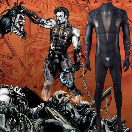 [Kids/Adults] Lobo The Wolf Zentai Costume Halloween Cosplay Outfit