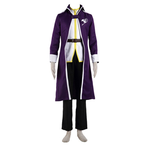 Anime Fairy Tail Uniform Unisex Costume Halloween Festival Party Outfit