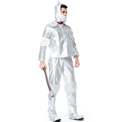 The Wizard of Oz The Tin Man Costume Tin Woodsman Halloween Costume Party Performance Costume