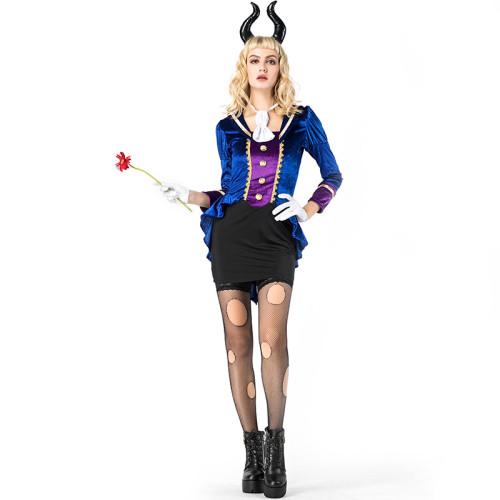 Beauty and the Beast The Prince Beast Female Costume Dress Full Set Halloween Costume