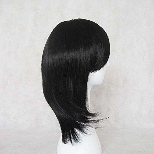 Anime Bleach Rukia Kuchiki Cosplay Wigs Black Wigs