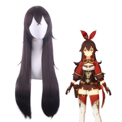 Genshin Impact Amber Cosplay Accessories Cosplay Long Wigs